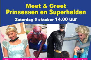 Meet & Greet superhelden!